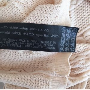 Zara Sweaters - Zara Knit Cream Cable Knit Pattern Sweater